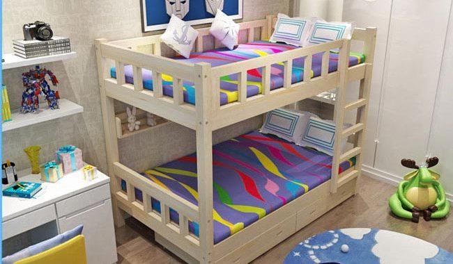 lựa chọn giường tầng cho bé
